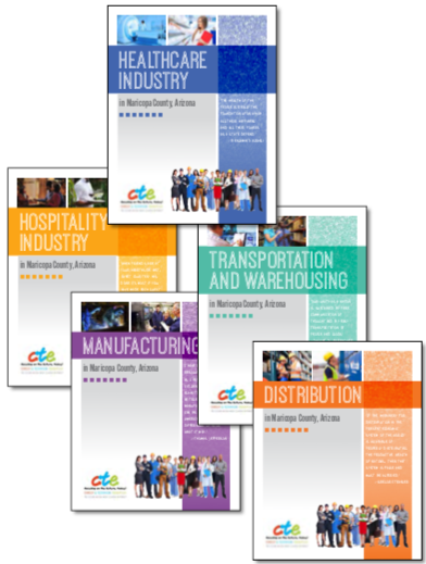Cover of 5 brochures